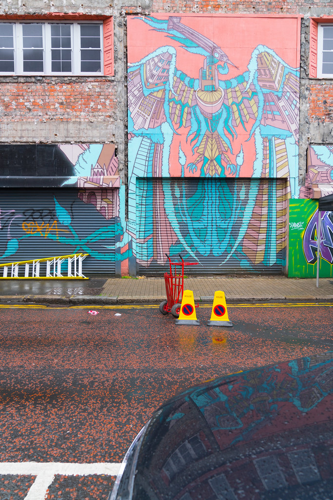 STREET ART AND GRAFFITI IN BELFAST [ANYTHING BUT THE FAMOUS MURALS]-129154