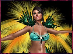 FANTASY ANGEL CHICK PARADISE BIRD 3 (irrISIStible shop) Tags: fantasy angels kristan isis secretspy irrisistible shop bird paradise victoria secret show second life design mesh outfit set maitreya belleza slink hourglass body models