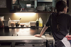 in the kitchen at Betty, Seattle, Washington, USA (Plan R) Tags: restaurant kitchen cook chef female woman betty seattle washington leica m 240 noctilux 50mm