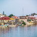 Belize City by the water