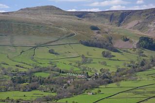Edale & Grindslow Knoll, Peak District National Park, Derbyshire, England.