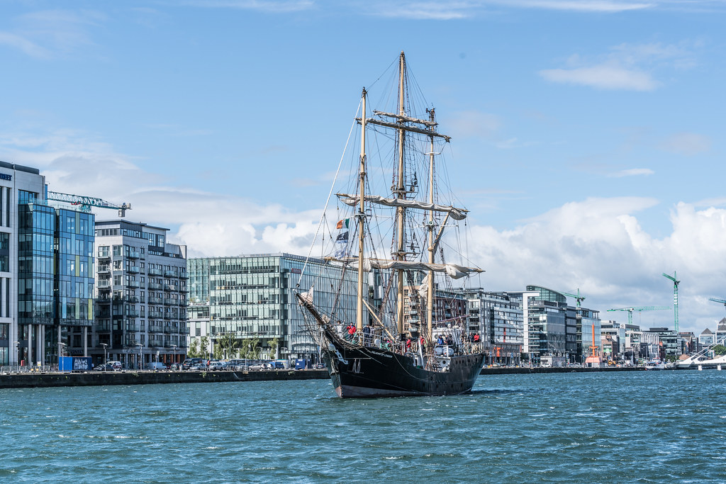 PELICAN OF LONDON [TALL SHIPS LEAVING DUBLIN PORT TUESDAY JUNE 6 2017]-129385