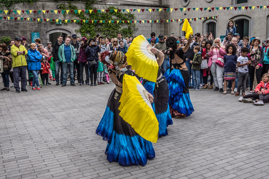 The Zoryanna Dance Troupe Tribal Belly Dancing [Africa Day 2017 Dublin]-129046