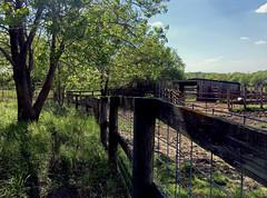 Farmhouse Stables (cowyeow) Tags: missouri american america usa nature green habitat landscape farm farmhouse composition rural fence stables