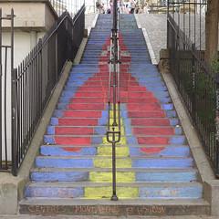 170527b2 (bbonthebrink) Tags: paris montmartre streetart tintin herge kidsart