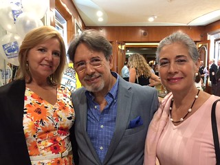 """Joyce and Ricardo Gonzalez with Rose Carvajal at the opening night of """"It Shoulda Been You"""""""