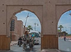 Beautiful and snowy Atlas Mountains (jennifer.stahn) Tags: travel travelphotography nikon maroc marocco marokko marrakech marrakesch marrakesh atlas mountains gebirge schnee pferdekutsche dailylife niceview kasbah mauer wall jennifer stahn medina