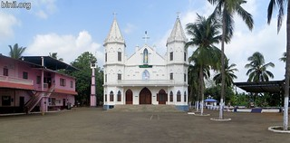 Our Lady Of Velankanni Church or Arogya Matha Devalayam, Karumathra 2
