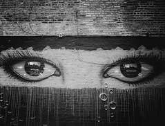 Chicago, 2017 (W.Ali's Photography) Tags: blackandwhite monochrome streetphotography chicago life candid street urban america michiganriver tears graffiti