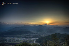 sarangkot- sunrise-15 p logo (anindya0909) Tags: nepal sarangkot sunise sunrise