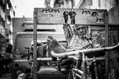 Working #Nikon (shravann93) Tags: nikon nikon50mm nikonindia nikonindiaofficial nikondslr 50mmf18 50mm indian streetsofindia chennaiweekendclickers chennai people streetlife life sleeping blackandwhitephotography blackandwhite ngc cwc