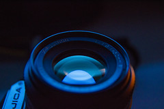 X-Fujinon 50mm f/1.9 Lens (Dylan_Browne) Tags: lens vintage fuji fujinon xfujinon bayonet mount macro vivitar 35mm film