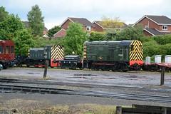 "British Railways Green Class 08, D3022 (37190 ""Dalzell"") Tags: br britishrailways green shunter rods gronk ee englishelectric class08 d3022 13022 08015 d2960 silverspoon dieselgala svr severnvalleyrailway kidderminster"