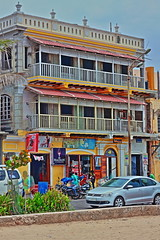 Ice Cream Shop HDR (Balaji Bharadwaj) Tags: icecream pondicherry hdr seaside building