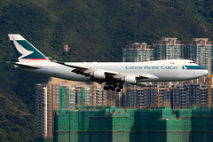 Cathay Pacific Cargo   Boeing 747-400ERF   B-LIF   Hong Kong International (Dennis HKG) Tags: cathay cathaypacific cathaypacificcargo cpa cx cargo freighter aircraft airplane airport plane planespotting boeing 747 747400 747400erf 747400f boeing747 boeing747400 boeing747400erf boeing747400f hongkong cheklapkok vhhh hkg blif oneworld canon 100400 1d
