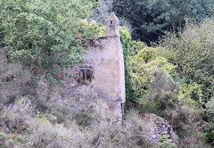 Ruin Seen From The Chairlift To Mount Solaro, Anacapri (meg21210) Tags: ruin structure wall decay old derelict anacapri isoladicapri italy campania chairlift solaro mountsolaro house hillside mountain dilapidated
