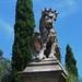 Gardien de la via del Santuario (1651), Monselice, province de Padoue, Vénétie, Italie.