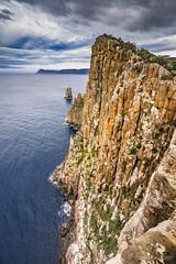 Cape Hauy (NettyA) Tags: 2017 3capestrack australia sonya7r tasmannationalpark tasmanpeninsula tasmania tassie threecapestrack bushwalk bushwalking hike capehauy capepillar clouds cliffs dolerite sea seascape shoreline coastline rock geology
