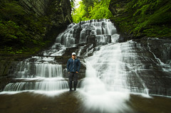 Me (Matt Champlin) Tags: me selfie water waterfalls waterblur adventure hiking life people nature landscape cny canon fingerlakes fillmoreglen peace peaceful quiet calm calming gorge glen moravia