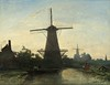 Johan Barthold Jongkind - Molens bij Rotterdam (Pau NG) Tags: jongkind johanbartholdjongkind art paintings
