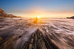 Sunset Dino's Beach (Njones03) Tags: bretagne bretagne2017 nicolassavignat presquiledecrozon seascape crozon france fr