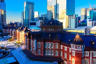 Tokyo Station Marunouchi Station Building : 東京駅丸の内駅舎