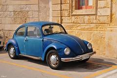 Blauer Käfer (TitusT1960) Tags: vwkäfer oldtimer auto käfer vw