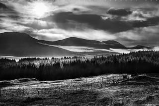 Scottish Highlands in BW #2