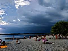 Before (C MB 166) Tags: deutschland germany sachsen saxony markkleeberg leipzig see lake neuseenland ufer shore strand beach steine stones buhne himmel sky wolken clouds gewitter thunderstorm instagram googlepixel