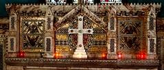 [51455] Holton Beckering : Reredos (Budby) Tags: holtoncumbeckering lincolnshire church altar reredos mosaic westlindseychurchesfestival