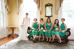 Ladies in the Pruyn House (Out of the Ordinary Photography) Tags: pruyn barn house suspenders wedding groomsman green ooto photo ootophoto hollygreene latham rustic bridal bride groom event celebration people pana pano panoramic wood adirondack adk adirondacks upstate