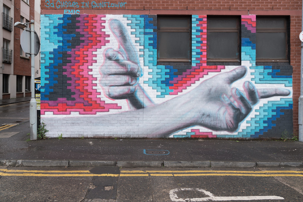 STREET ART AND GRAFFITI IN BELFAST [ANYTHING BUT THE FAMOUS MURALS]-129142