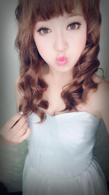 嘉義新秘,新娘秘書,新娘造型,日系大眼妝,水波紋髮型