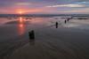 Sandsend Beach (Toby Price - Coates) Tags: sandsend whitby yorkshire north northyorkshire coast coastal beach sand sea waves sunrise water clouds sun landscape seascape groins fuji fujifilm xt1 xseries