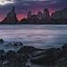 Rocas y mar en Gueirúa - Rocks and sea at