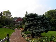 06 Walkway (megatti) Tags: brick buckscounty flowers lahaska pa path peddlersvillage pennsylvania