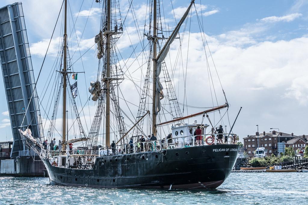 PELICAN OF LONDON [TALL SHIPS LEAVING DUBLIN PORT TUESDAY JUNE 6 2017]-129392