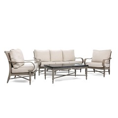 Saylor 4 Piece Couch Seating Set Blue Oak Outdoor (Blue Oak Outdoor) Tags: blueoak blueoakoutdoor outdoorfurniture patiofurniture gardenfurniture sunroomfurniture saylor
