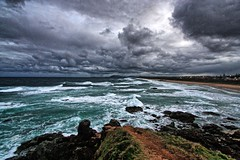 Lighthouse Beach. (Ian Ramsay Photographics) Tags: portmacquarie newsouthwales australia storm clouds approaching lighthousebeach
