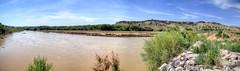 Upstream of San Acacia Diversion Dam (JoelDeluxe) Tags: middleriogrande mrg site tour nm newmexico joeldeluxe water bosque sand sanacacia diversiondam