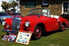Norman wisdoms Daimler 2 (H Burton) Tags: dealmotorshow classiccars classiccar deal normanwisdomsdaimler normanwisdom daimler redsportscar damilersportscar