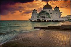 Mezquita del Estrecho de Malaca (bit ramone) Tags: malasia malaca mezquita mosque sea mar asia bitramone