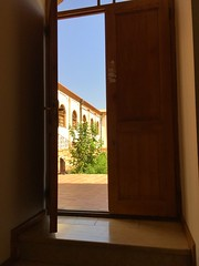 (bamdadnorouzian) Tags: hot ancient alone solo sky asia iran tehran building beautiful quite nosound relax brown green tree nature view door sony sonyc4