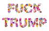 "fuck trump <a style=""margin-left:10px; font-size:0.8em;"" href=""http://www.flickr.com/photos/78655115@N05/35299346691/"" target=""_blank"">@flickr</a>"