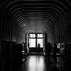 Enjoy the light (BL : : photos) Tags: bw chenonceau château cher touraine lumix lx100 panasonic france châteauxdelaloire nb carré