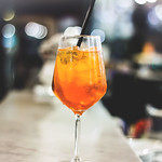 Cocktail Spritz, drinking an Italian Aperitivo, sparkling cocktail with wine thumbnail