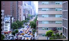 Friday Afternoon Gridlock - Upper East Side, New York City, NY. (SpottingWithTom) Tags: 1st avenue traffic gridlock jam standstill rush hour new york city manhattan 62nd street tiltshift