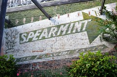 South Carolina, Dillon, Wrigley's Spearmint Gum (EC Leatherberry) Tags: wall advertisement southcarolina chewinggum wrigleysspearmintgum spearmint dilloncounty dillonsouthcarolina