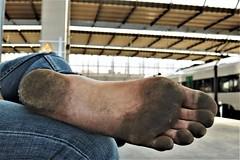 dirty city feet 516 (dirtyfeet6811) Tags: feet foot sole barefoot dirtyfeet dirtyfoot dirtysole cityfeet