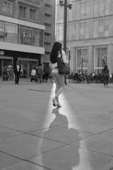 A woman and her shadow (Pascal Volk) Tags: berlin mitte alexanderplatz berlinmitte artinbw schwarz weis black white blackandwhite schwarzweis sw bw bnw people street canoneos6d sigma50mmf14dghsm art 50mmf14 50mmlens unpointquatre onepointfour niftyfifty 50mm